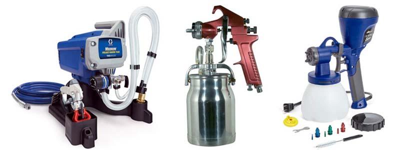 Types of Paint Sprayers